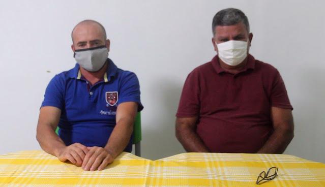 Vereadores Hugo (PSD) e Isack (PSD) de Macajuba