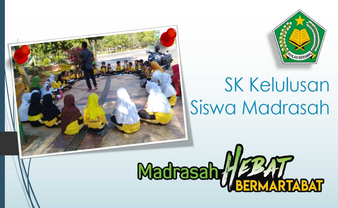 Contoh SK Kelulusan Siswa Madrasah 2020 Format Word