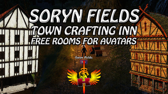 Soryn Fields, Town Crafting Inn, Free Rooms For Avatars 🏠 SotA Hotels & Inns