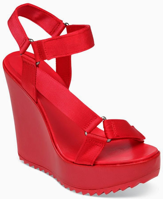 Red Wedge Shoes Australia
