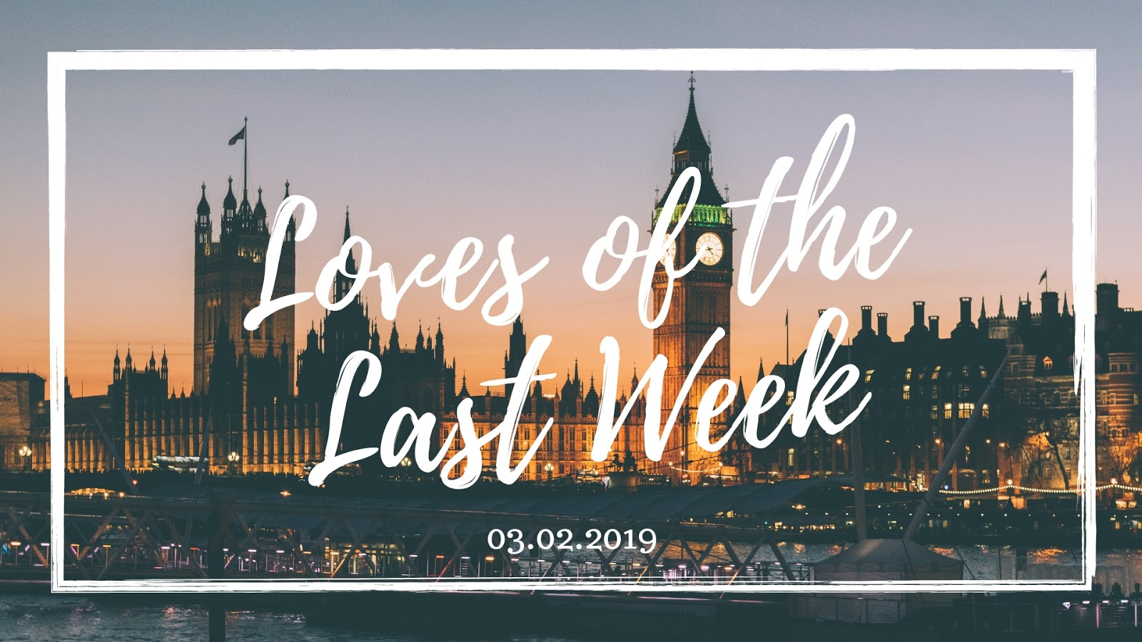 Loves of the last week, weekend reading series, new series, suz and the sun