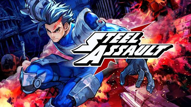 Steel Assault, título de ação e plataforma 16-bits, será lançado no Switch em 28 de setembro