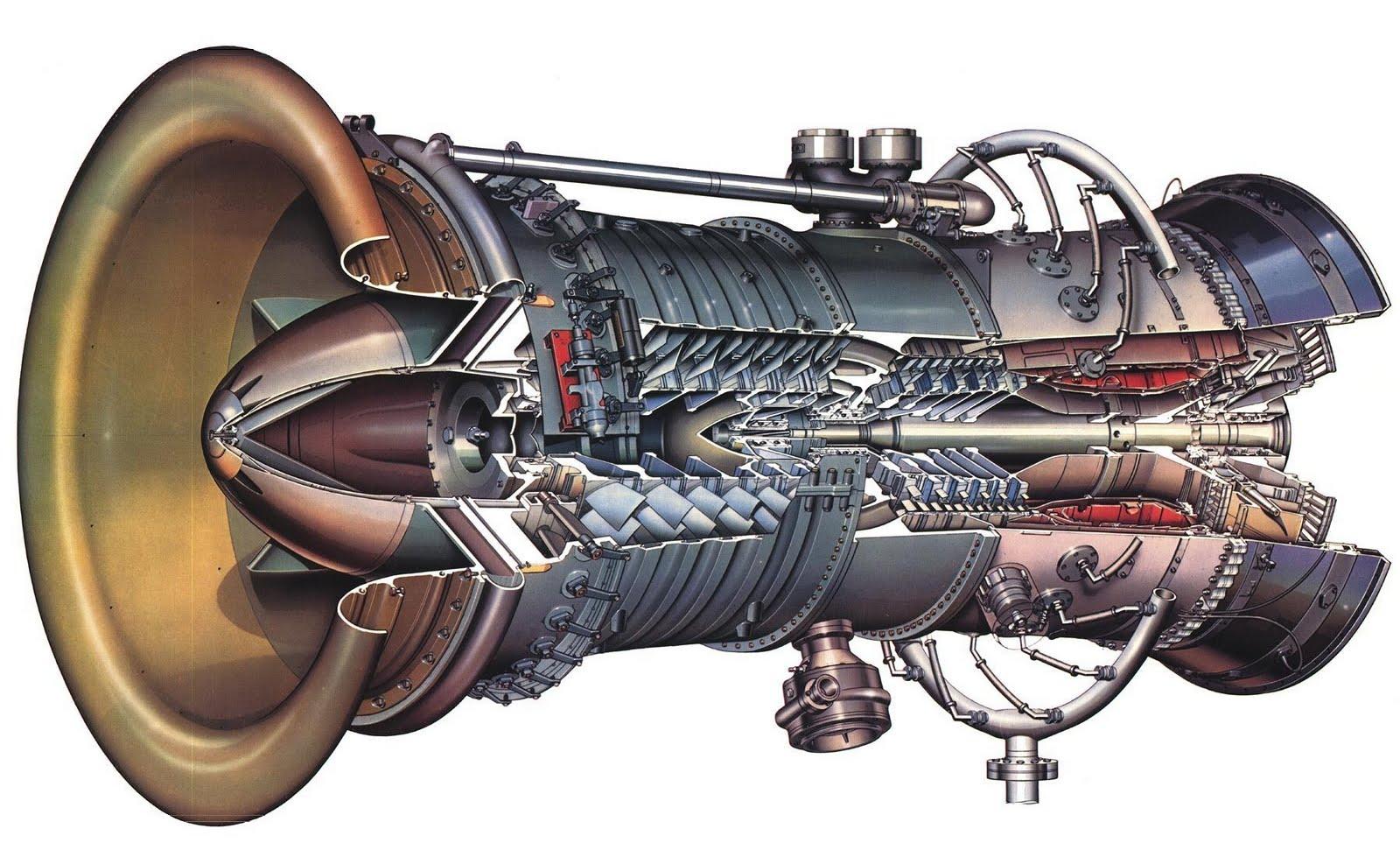 jet engine turbine and - photo #7