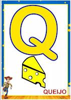 Alfabeto ilustrado Toy Story para imprimir e colocar na parede
