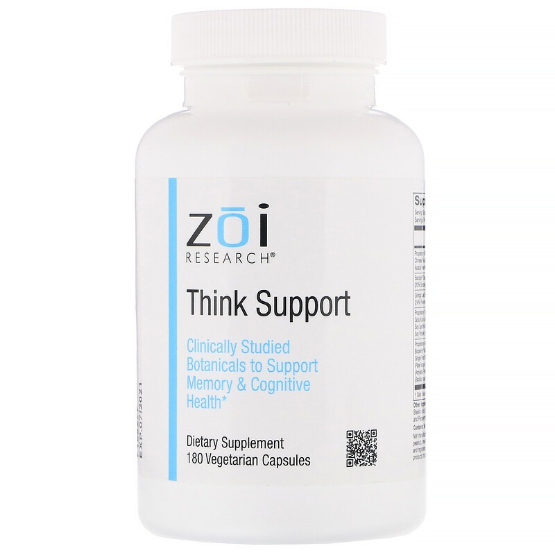 ZOI Research, Think Support, 180 Vegetarian Capsules