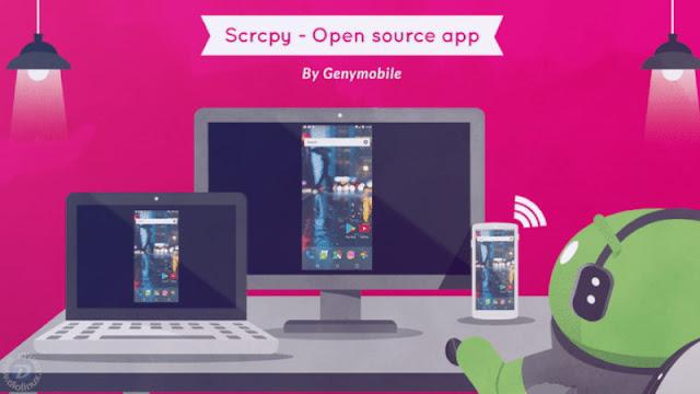 Espelhe a tela do seu Android no seu Linux com o ScrCPy