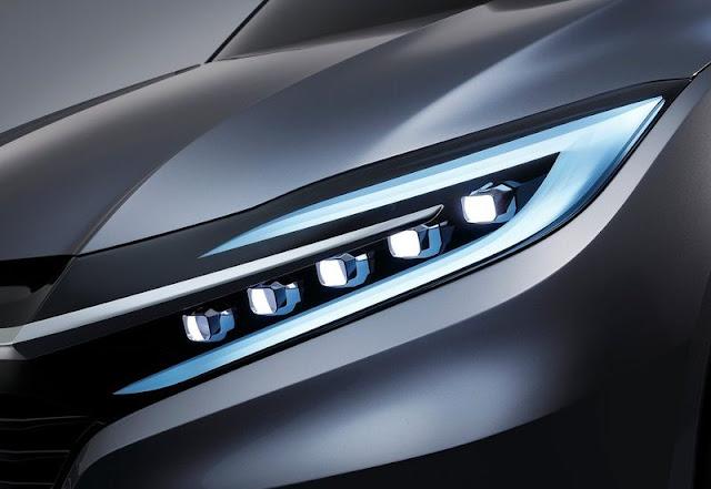 Honda Urban SUV Front Lamps