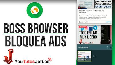 navegador sin publicidad telefono