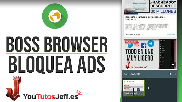 Brutal Navegador Android con Bloqueo de Publicidad - Descargar FOSS Browser