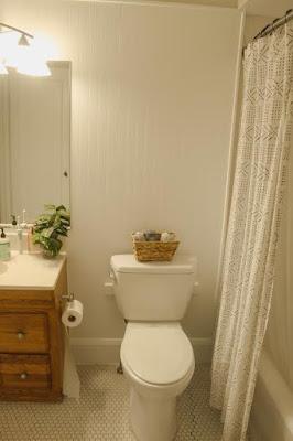 Bathroom Penny Tile