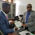 INEC Issues Certificate Of Return To New Abia State Governor Ogah [See Photo]