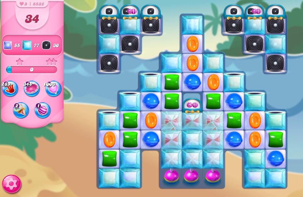 Candy Crush Saga level 8532