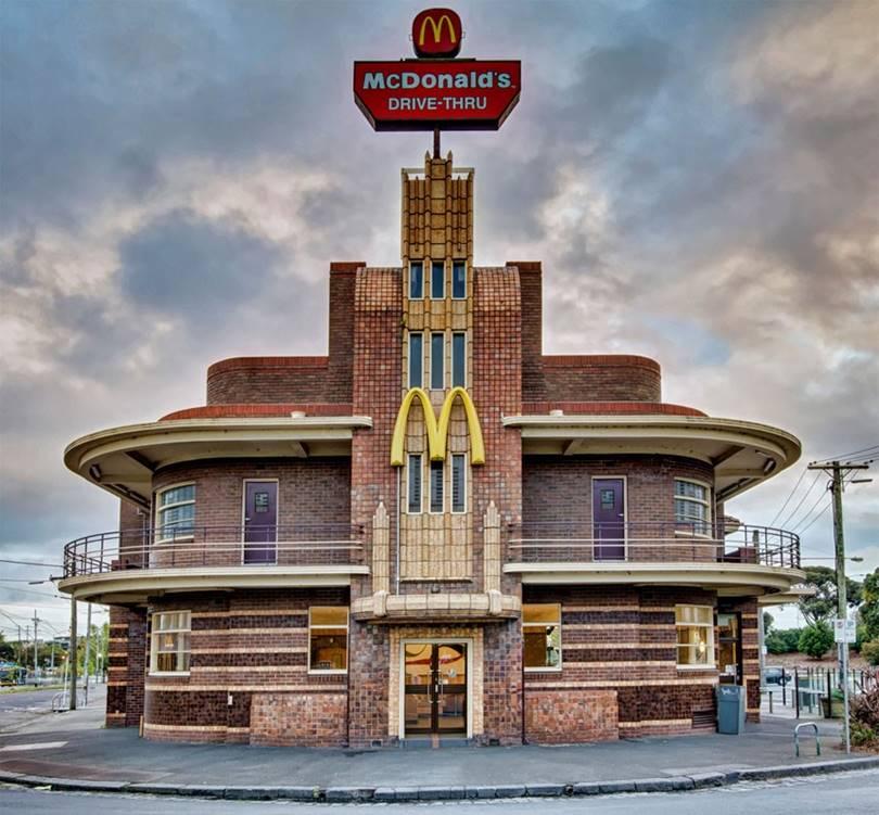 world's fanciest mcdonald's, the best mcdonald's, top 10 mcdonald's