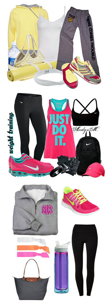 Workout Clothes  >>> Click through for sources