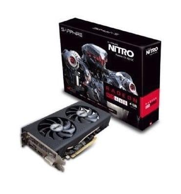 Sapphire NITRO Radeon RX 460 DDR5 DP OC 2/4GB Graphics Card BD Price in Bangladesh
