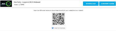 Selanjutnya klik Start dan tunggu sampai muncul tombol downloadnya, sekarang tinggal kalian download saja
