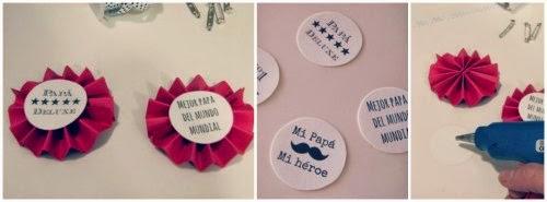 Pasos DIY Medalla Día del padre