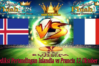 Prediksi Pertandingan Islandia vs Prancis 12 Oktober 2019