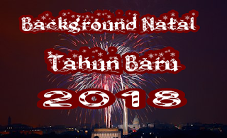 Background Tahun Baru 2018