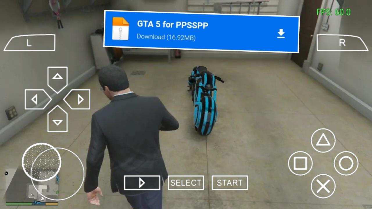 GTA V PPSSPP اخيرا شرح طريقة تحميل لعبة gta v للاندرويد الاصلية ppsspp من ميديا فاير