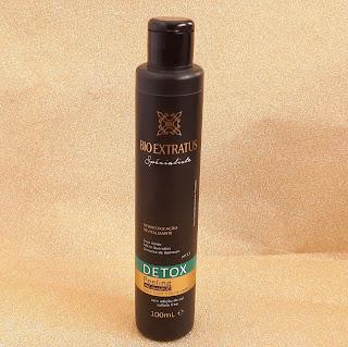 resenha pre shampoo detox bio extratus specialist dicas da tia