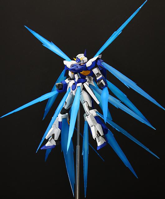 GUNDAM GUY: HG 1/144 Gundam AGE-FX Burst Mode - Custom Build