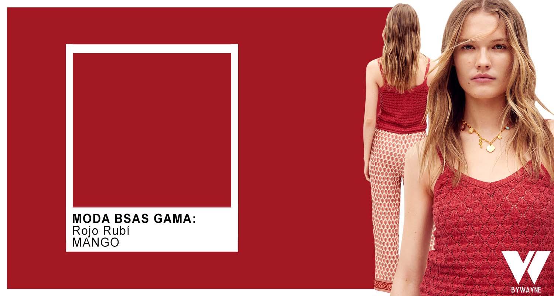 colores tendencia de moda rojos primavera verano 2022