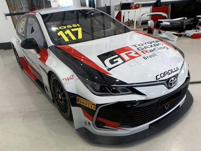 Toyota Corolla Stock Car do Rubens Barrichello - fotos