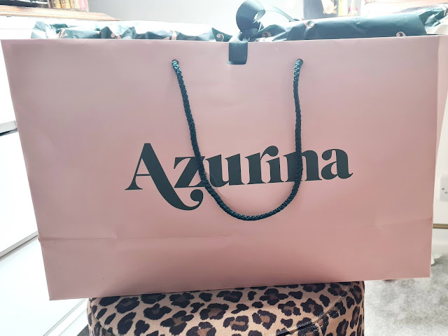 Azurina Stockholm monogrammed personalised tote bag