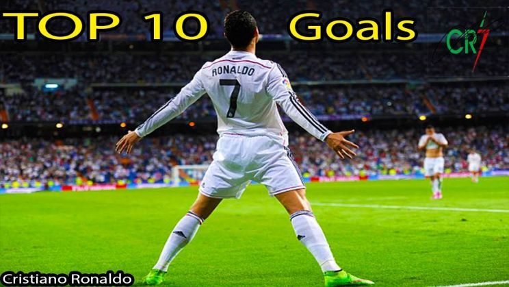 Top 10 goluri marcate de Cristiano Ronaldo