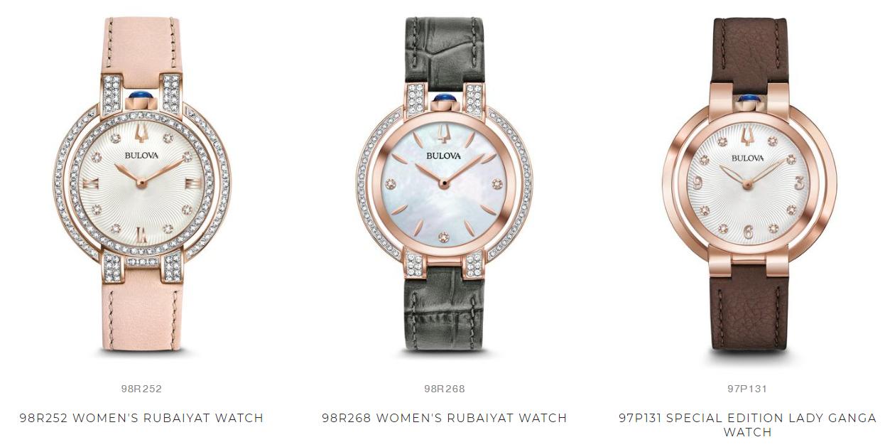 Bulova jam tangan wanita