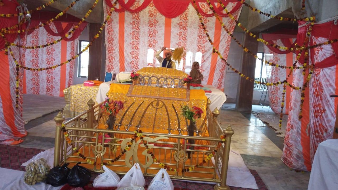 गुरु नानक देव का 551वाँ  प्रकाश पर्व बड़ी ही धूमधाम से मनाया गया