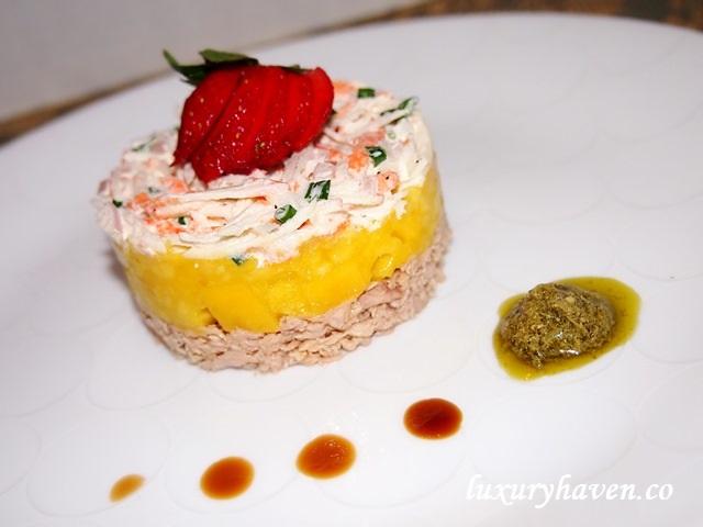salam teapot fruity seafood appetizer