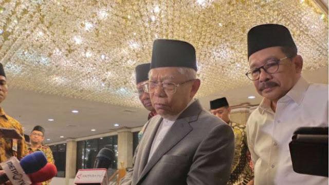 Wapres Ma'ruf Amin Bantah Mau Bentuk Polisi Masjid