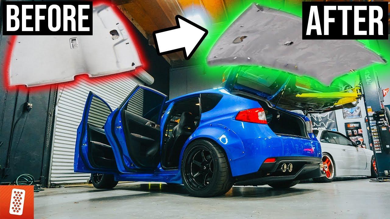 Recaro Performance Ride >> throtl Media and Content Evo 8 gets NEW WHEELS & STI ...