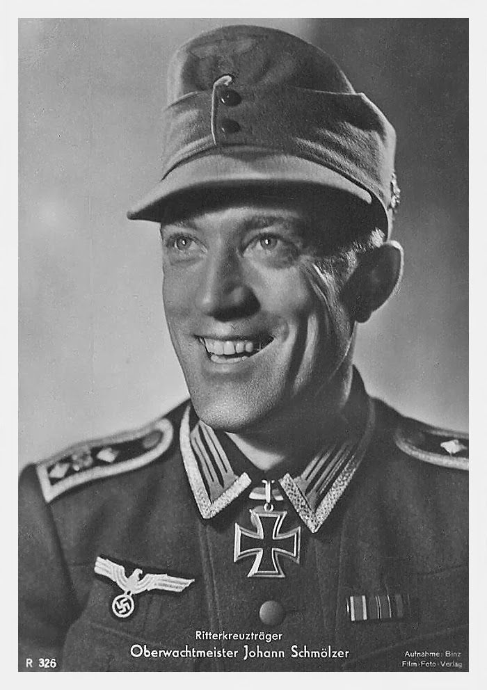 Johann Smölzer Ritterkreuzträger Knight Cross Holder Postcard