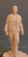sculture su ordinazione soprammobili statuette realistiche milano orme magiche