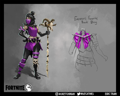 Fortnite Mileena Mortal Kombat