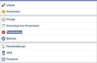 Memblokir Facebook