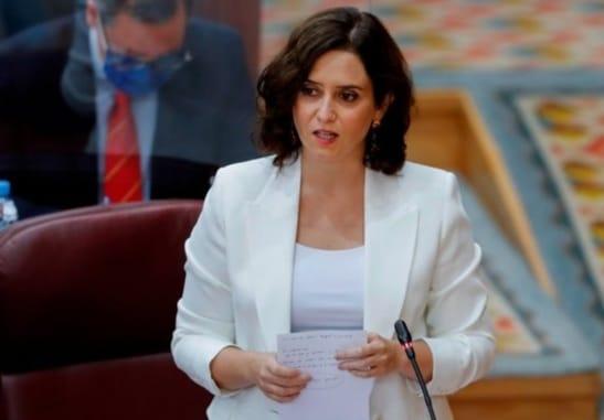 Isabel Díaz Ayuso. Asamblea