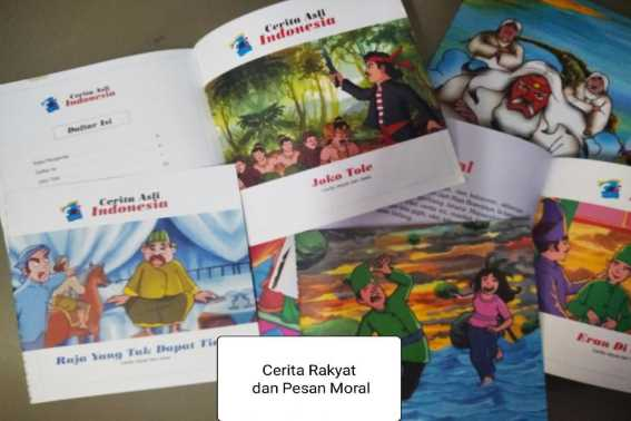 Cerita Rakyat yang Cocok Disampaikan kepada Anak