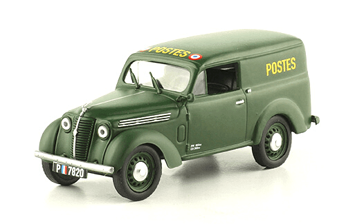 RENAULT JUVAQUATRE FURGONETA 1:43, voitures militaires de la seconde guerre mondiale