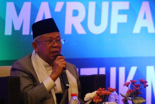 Kiai Ma'ruf: Indonesia Butuh Peran Ulama Membangun Bangsa