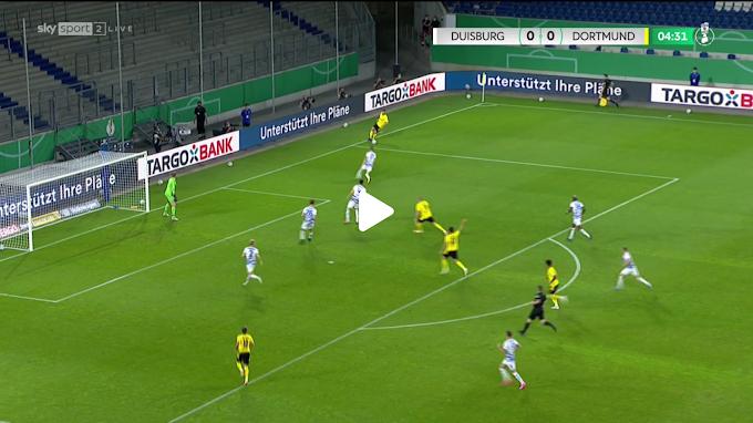 VIDEO: MSV Duisburg 0:5  Borussia Dortmund / DFB-Pokal