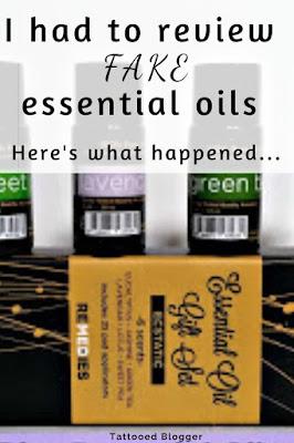 Fake essential oils reviews