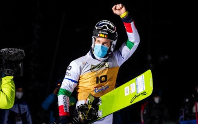 Snowboard, l'italiano Aaron March vince la Coppa del Mondo nel parallelo