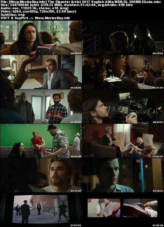 the disaster artist movie download 300mb