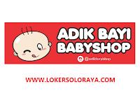 Lowongan Kerja Solo Raya Staff Purchasing Retail di Adikbayi Babyshop