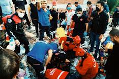 إرتفاع حصيلة زلزال إزمير The death toll from the earthquake in Izmir