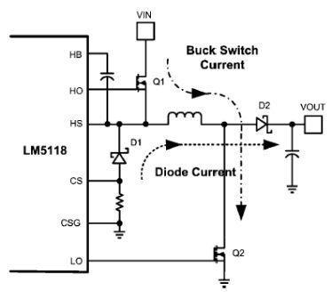 national-lm5118-basic-buck-boost-regulator-circuit